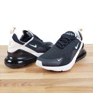 nike • airmax 270 black beige running shoes